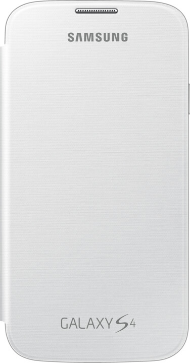 Samsung flip EF-FI950BWEG pro Galaxy S 4, bílá