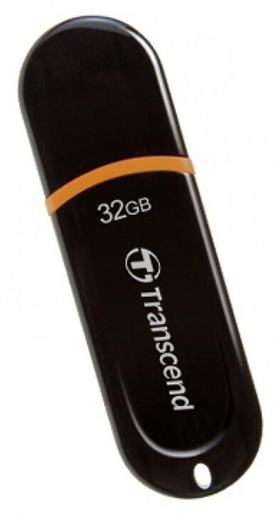 Transcend JetFlash 300 32GB černá/oranžová