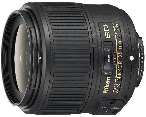 Nikon objektiv Nikkor 35mm f/1.8G AF-S