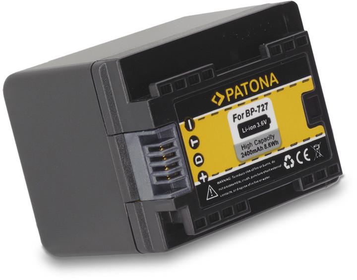 Patona baterie pro Canon BP-727 2400mAh Li-Ion