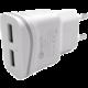 C-TECH nabíječka USB UC-02, 2x USB, 2,1A, bílá