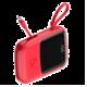 Baseus Q-Pow rychlonabíjecí Powerbanky s LCD displejem 10000 mAh, červená