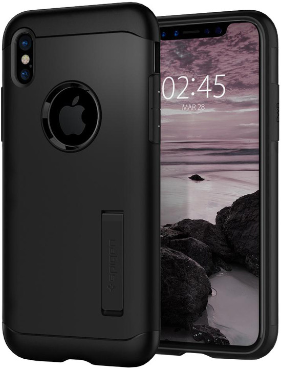 Spigen Slim Armor iPhone X, black