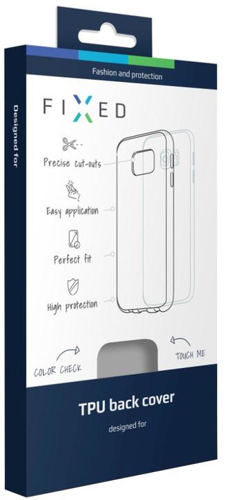 FIXED gelové pouzdro pro Moto G Moto G4/G4 Plus, bezbarvé
