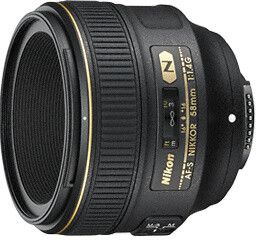 Nikon objektiv Nikkor 58mm f/1.4 G AF-S