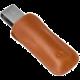 Odzu Leather case Ledger Nano, brown