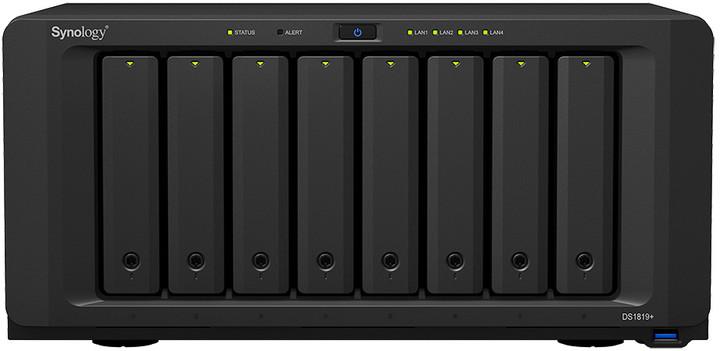 Synology DiskStation DS1819+ + rozšířená záruka 5 let