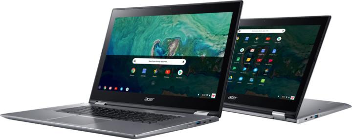 Acer Chromebook Spin 15 (CP315-1H-P76L), stříbrná