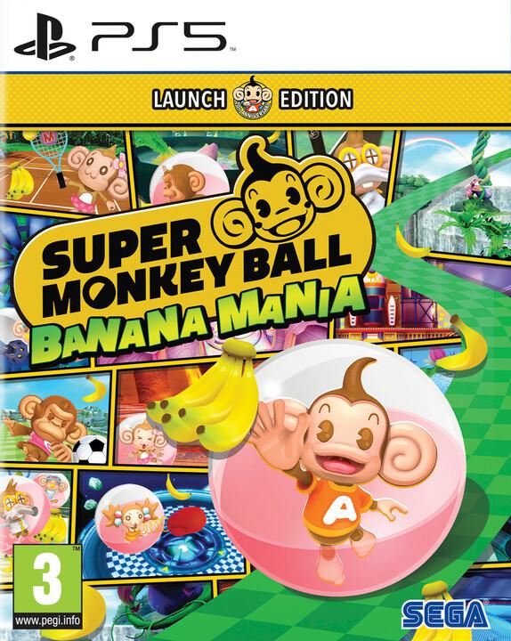 Super Monkey Ball Banana Mania - Launch Edition (PS5)