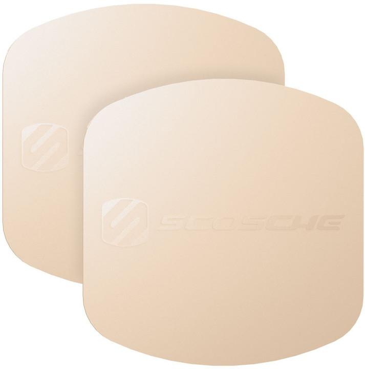 Scosche MagicPlate XL výměnné a doplňující magnetické štítky, zlaté