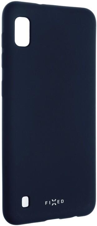 FIXED zadní pogumovaný kryt Story pro Samsung Galaxy A10, modrá