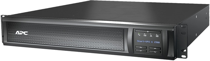 APC Smart-UPS X 1500VA Rack/Tower LCD, 230v, síťová karta