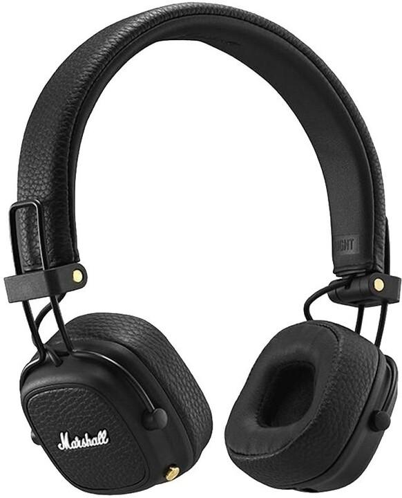 Marshall Major III Bluetooth Voice, černá