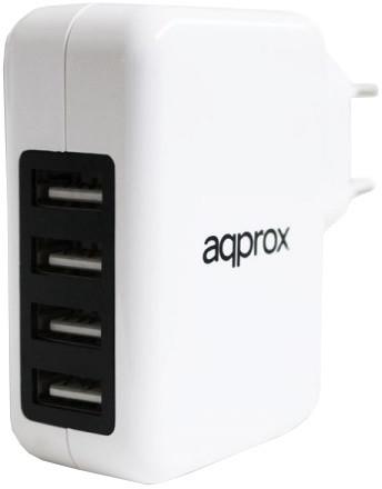 Approx APPUSBWALL4PW napájecí adaptér, 20W, 4A, USB