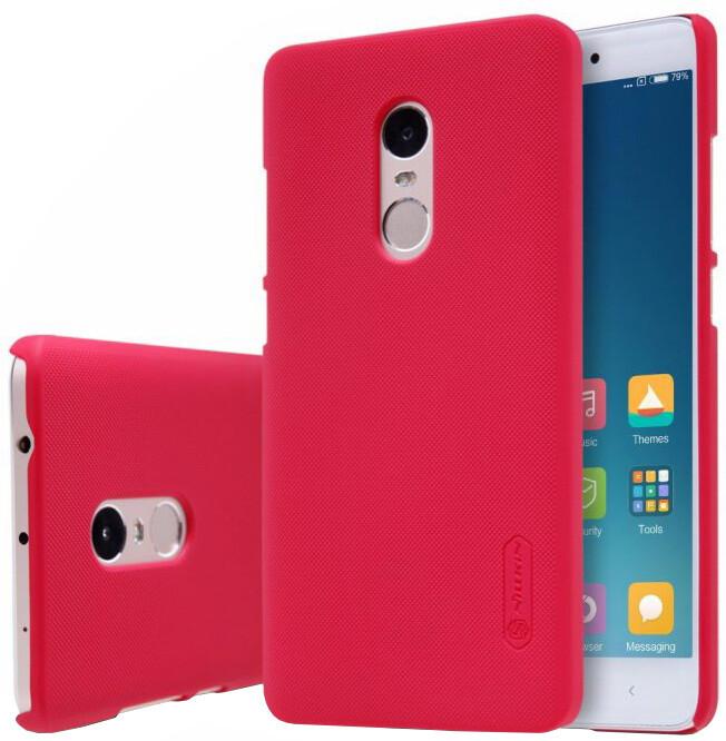 Nillkin Super Frosted Shield pro Xiaomi Redmi Note 4, červená