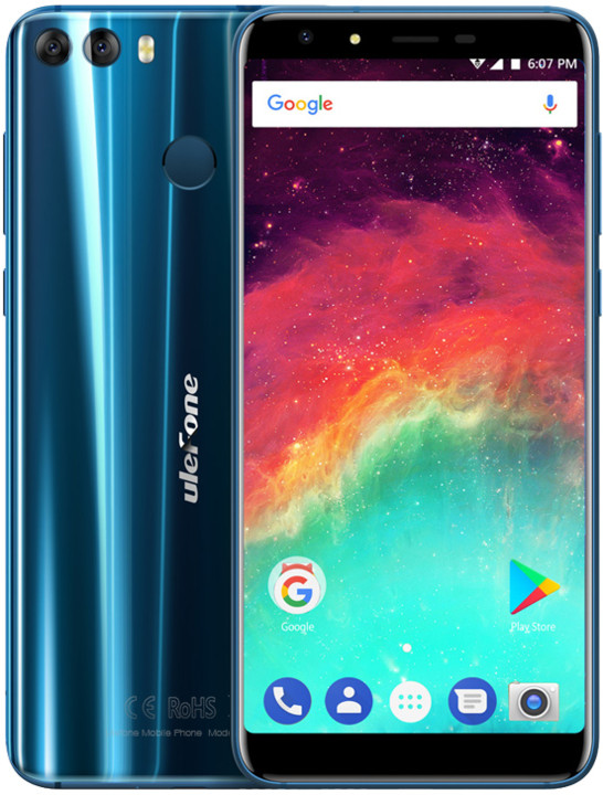 Ulefone MIX 2 DS, 16GB, modrá