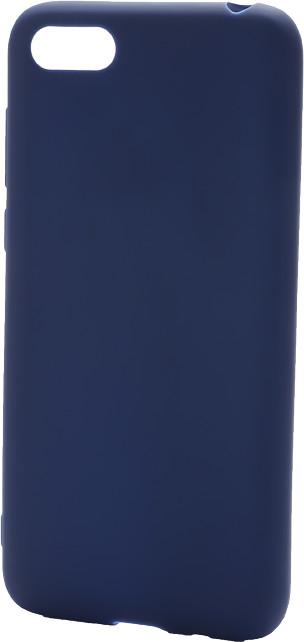 EPICO Pružný plastový kryt pro Huawei Y5 (2018) SILK MATT, modrý