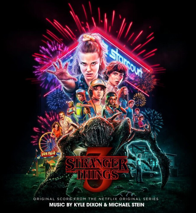 Oficiální soundtrack Stranger Things 3 na LP