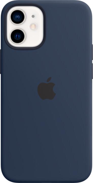 Apple silikonový kryt s MagSafe pro iPhone 12 mini, tmavě modrá