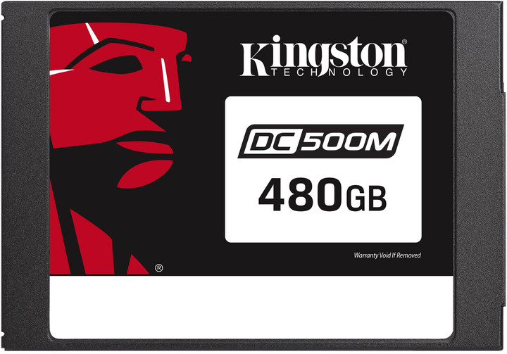 "Kingston Flash Enterprise DC500M, 2.5"" - 480GB (Mixed-Use)"