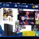 PlayStation 4 Pro, 1TB, Gamma chassis, černá + FIFA 21 + 2x DualShock 4
