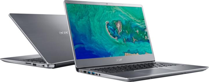 Acer Swift 3 celokovový (SF314-56-35BF), stříbrná