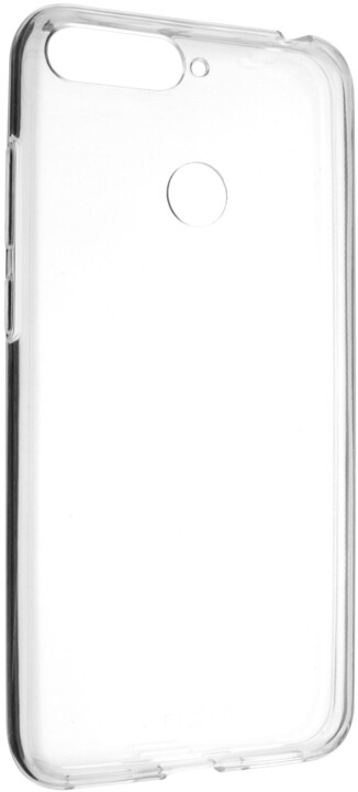 FIXED Ultratenké TPU gelové pouzdro Skin pro Huawei Y6 Prime (2018), 0,6 mm, čiré
