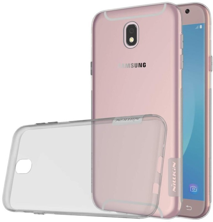 Nillkin nature TPU pouzdro pro Samsung J730 Galaxy J7 2017 - šedá
