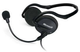 Microsoft LifeChat LX-2000, černá