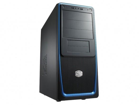 CoolerMaster Elite 311, black-blue