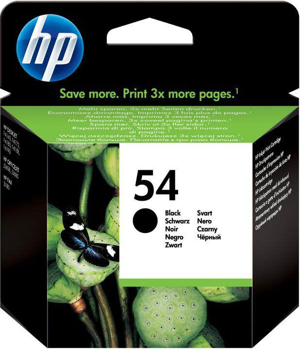 HP CB334AE, no.54, černá