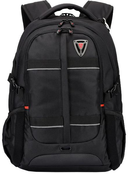 SUMDEX RED(S) batoh pro notebok BP-302BK, černý