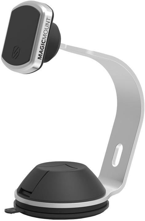 Scosche MagicMount Pro Home/Office magnetický držák, stříbrný