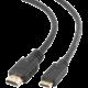 Gembird CABLEXPERT kabel HDMI-HDMI mini 1,8m, 1.4, M/M stíněný, zlacené kontakty, černá