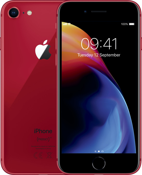 Apple iPhone 8, 256GB, (PRODUCT)RED