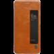 Nillkin Qin S-View Pouzdro Brown pro Huawei P10