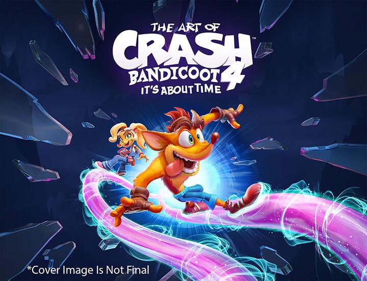 Kniha The Art of Crash Bandicoot 4: It's About Time (EN)