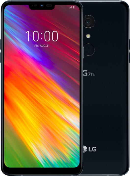 LG G7 Fit, 4GB/32GB, Dual SIM, černá