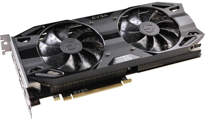 EVGA GeForce RTX 2070 XC BLACK EDITION GAMING, 8GB GDDR6
