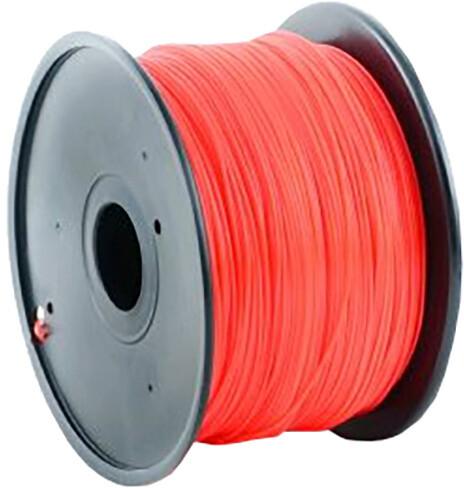 Gembird tisková struna (filament), ABS, 1,75mm, 1kg, červená