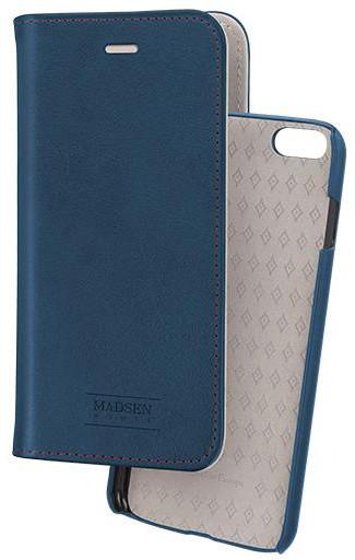 Madsen knížkové pouzdro 2 v 1 magnotické pro Apple iPhone 6/6s modré