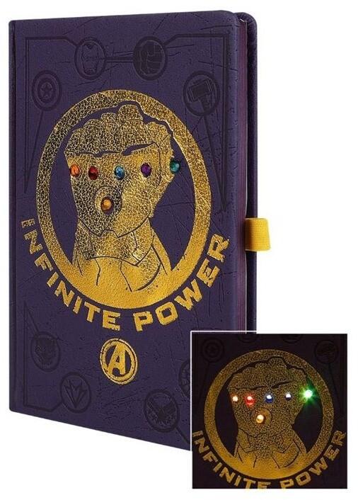 Zápisník Marvel - Avengers Infinity War, svítící (A5)