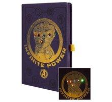 Zápisník Marvel - Avengers Infinity War, svítící (A5) - SR72618