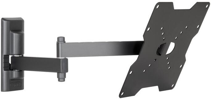 Meliconi 580410 CME Double Rotation EDR 200 nástěnný náklonný držák na TV, černá