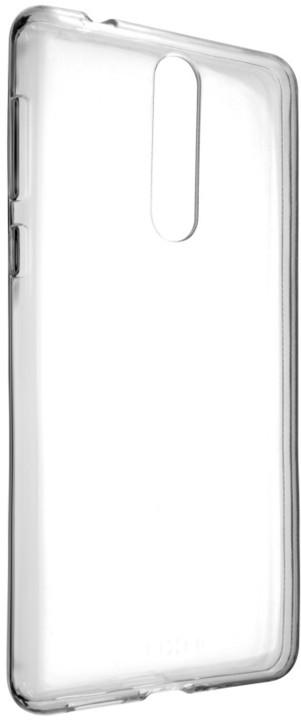 FIXED TPU gelové pouzdro pro Nokia 8, čiré