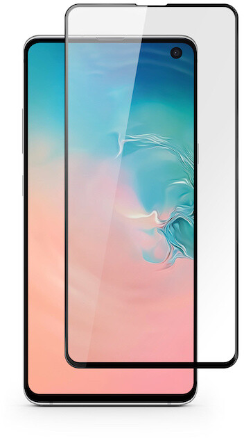 EPICO tvrzené sklo pro Motorola Edge Plus, 3D+, černá