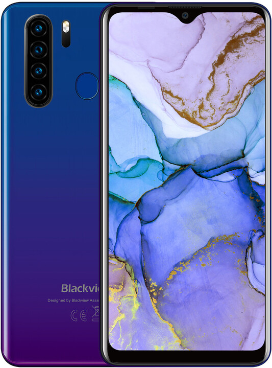iGET Blackview GA80 Pro, 4GB/64GB, Blue