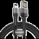 BASEUS kabel Cafule Cable (Special Edition) USB Lightning for iPhone 2.4A, 1m, černá