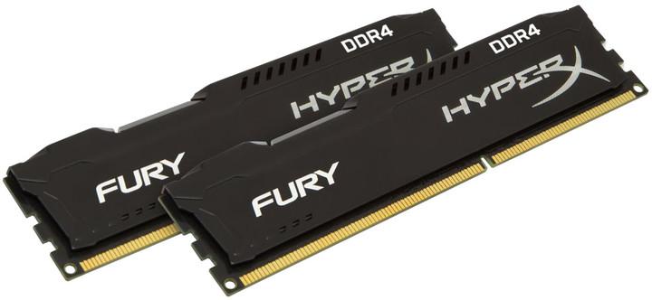 HyperX Fury Black 16GB (2x8GB) DDR4 2933