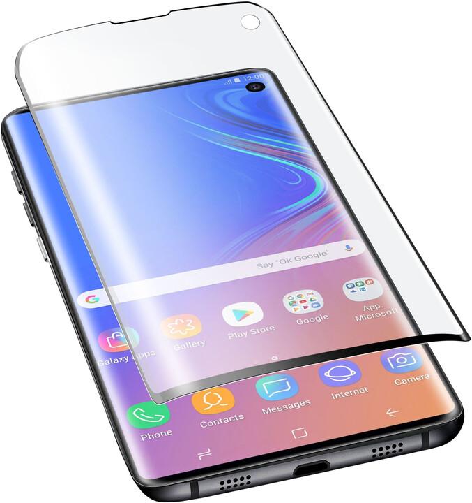 CellularLine fólie na displej pro Samsung G973 Galaxy S10, lesklá